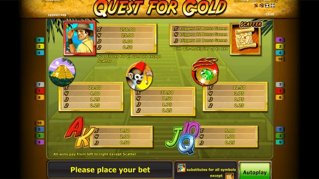 Quest for gold 5