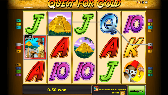 Quest for gold 7