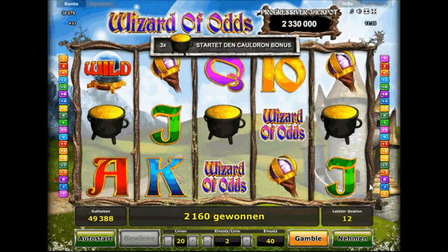 Wizard Of Odds 1