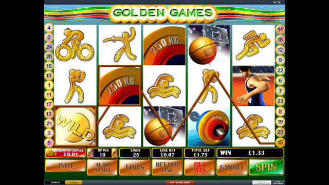 Golden Games 10